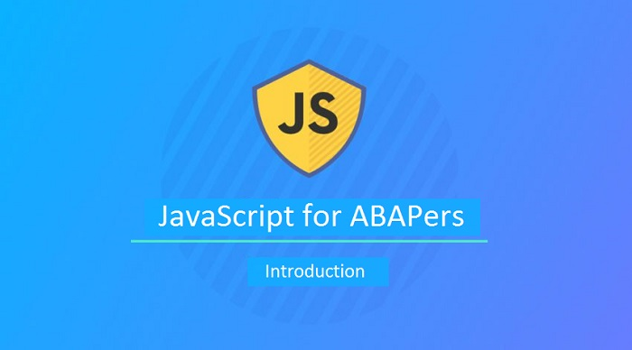 JavaScript for ABAPers